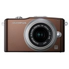Olympus Pen E-PM1 14-42 Kit Brown/Silver