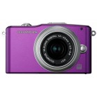 Olympus Pen E-PM1 14-42 Kit Purple/Silver
