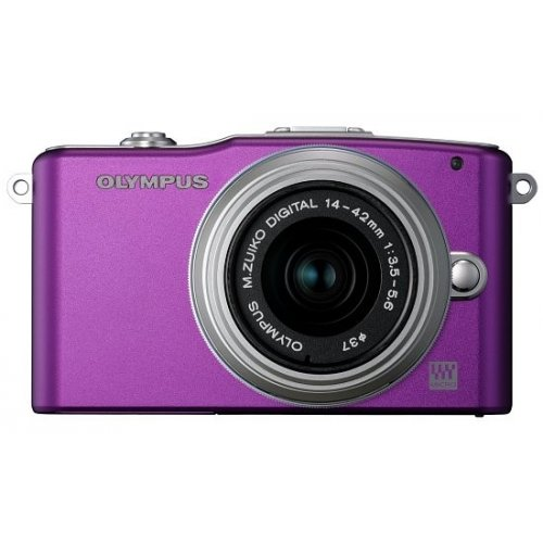 Цифровые фотоаппараты Olympus Pen E-PM1 14-42 Kit Purple/Silver
