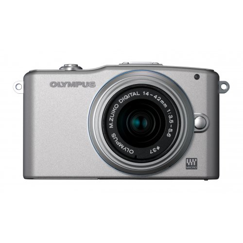 Цифровые фотоаппараты Olympus Pen E-PM1 14-42 Kit Silver/Silver