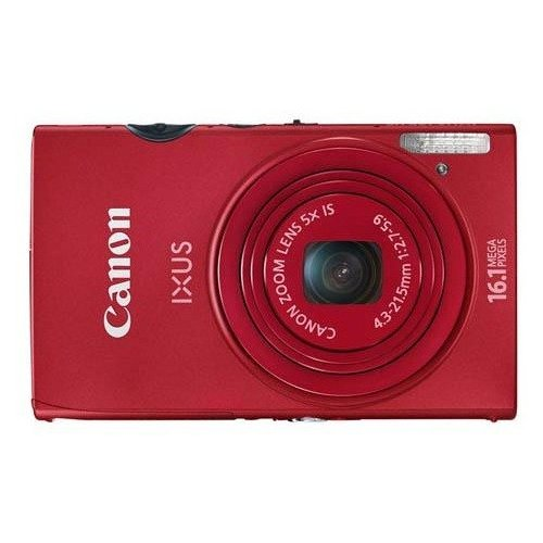Цифровые фотоаппараты Canon IXUS 125 HS Red