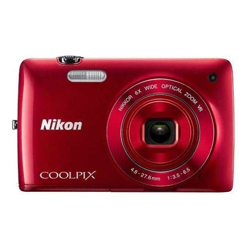 Цифровые фотоаппараты Nikon Coolpix S4300 Red