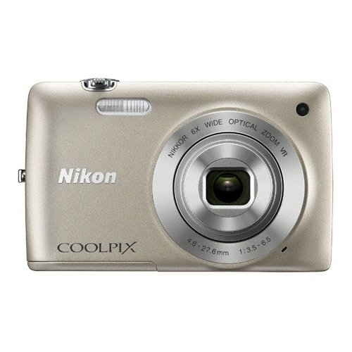 Цифровые фотоаппараты Nikon Coolpix S4300 Silver