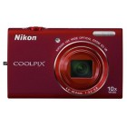 Nikon Coolpix S6200 Red