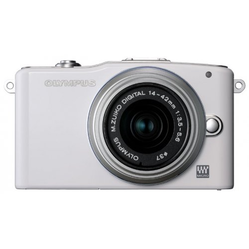 Цифровые фотоаппараты Olympus Pen E-PM1 14-42 Kit White/Silver