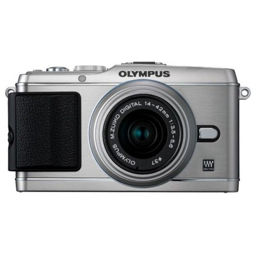 Цифровые фотоаппараты Olympus Pen EP-3 14-42 Kit Silver/Silver