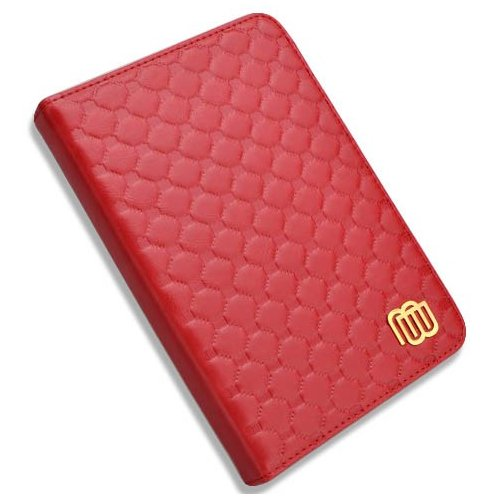 Обложка MyBook Quilted с подсветкой для Kindle Touch Red