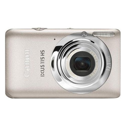 Цифровые фотоаппараты Canon IXUS 115 HS Silver