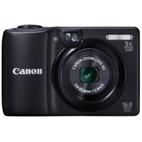 Цифровые фотоаппараты Canon PowerShot A1300 Black