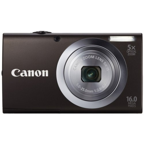 Цифровые фотоаппараты Canon PowerShot A2400 IS Black