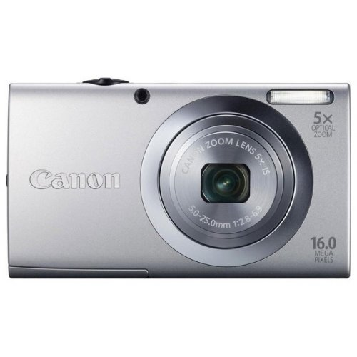 Цифровые фотоаппараты Canon PowerShot A2400 IS Silver