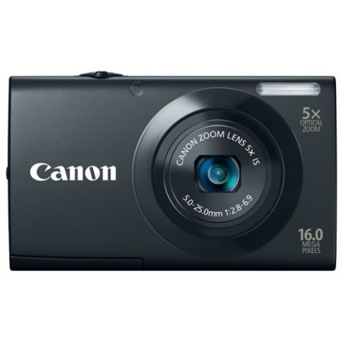 Цифровые фотоаппараты Canon PowerShot A3400 IS Black