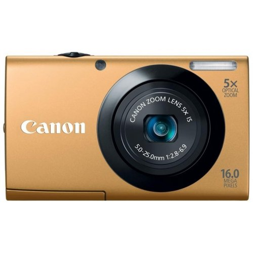 Цифровые фотоаппараты Canon PowerShot A3400 IS Gold