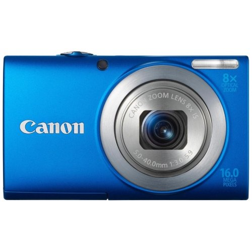 Цифровые фотоаппараты Canon PowerShot A4000 IS Blue