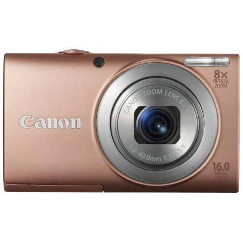 Цифровые фотоаппараты Canon PowerShot A4000 IS Pink