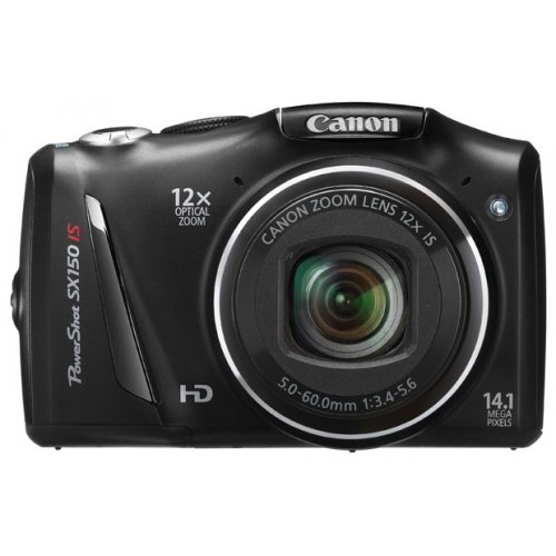 Цифровые фотоаппараты Canon PowerShot SX150 IS Black