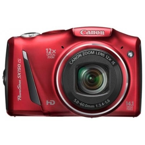 Цифровые фотоаппараты Canon PowerShot SX150 IS Red