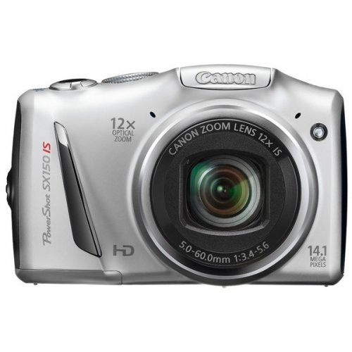 Цифровые фотоаппараты Canon PowerShot SX150 IS Silver