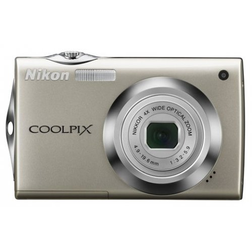 Цифровые фотоаппараты Nikon Coolpix S4000 Сhampagne Silver
