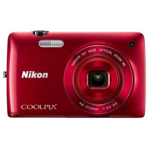 Цифровые фотоаппараты Nikon Coolpix S4200 Red