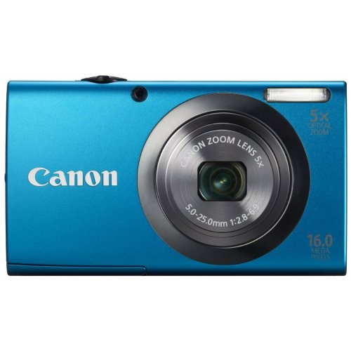 Цифровые фотоаппараты Canon PowerShot A2300 Blue
