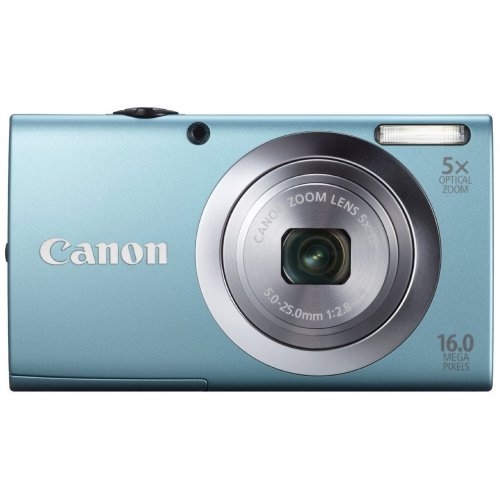 Цифровые фотоаппараты Canon PowerShot A2400 IS Blue