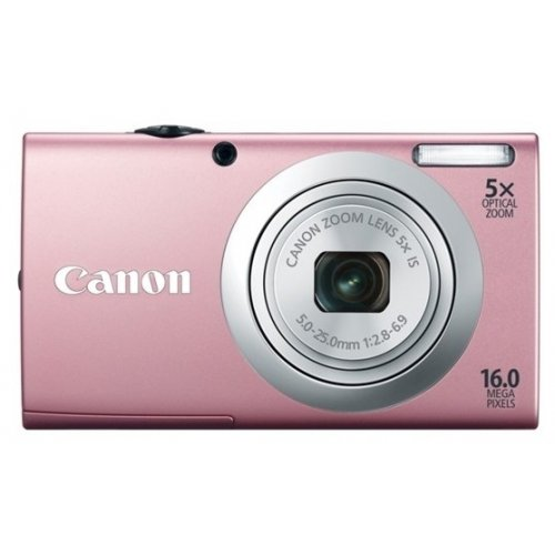 Цифровые фотоаппараты Canon PowerShot A2400 IS Pink