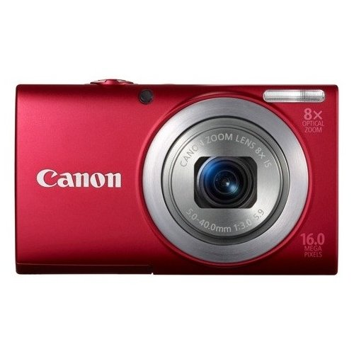Цифровые фотоаппараты Canon PowerShot A4000 IS Red