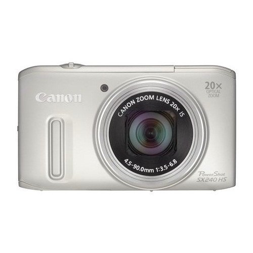 Цифровые фотоаппараты Canon PowerShot SX240 HS Silver