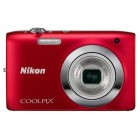Nikon Coolpix S2600 Red