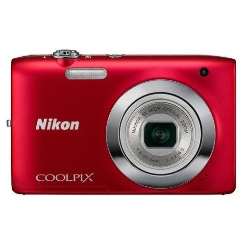 Цифровые фотоаппараты Nikon Coolpix S2600 Red