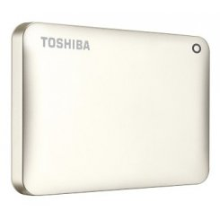 Toshiba Canvio Connect II 1TB HDTC810EC3AA Gold