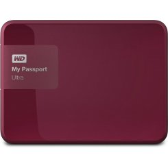 Western Digital My Passport Ultra 3TB WDBBKD0030BBY-EESN Red