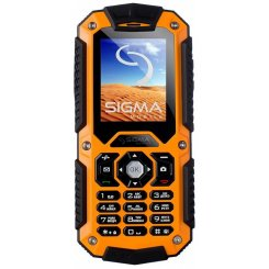 Sigma mobile X-treme II67 Boat Orange