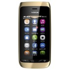 Nokia Asha 308 Golden Light