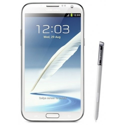 Смартфон Samsung Galaxy Note II N7100 Marble White