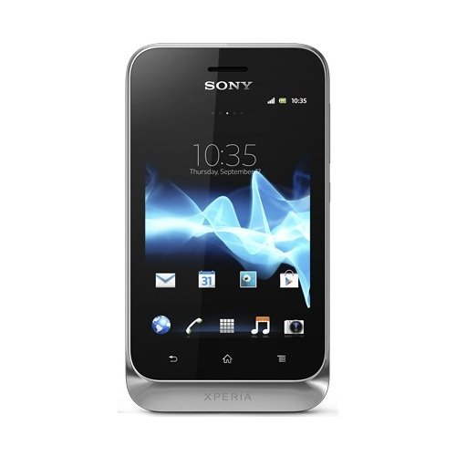 Смартфон Sony Xperia tipo Dual ST21i2 Silver