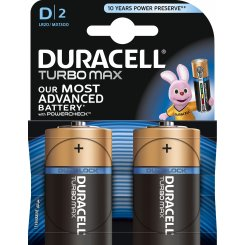Duracell D (LR20) MN1300 TurboMax 2шт (81529786)