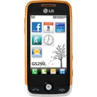 LG GS290 White Orange