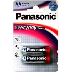 Panasonic AA (LR06) Everyday Power 2шт (LR6REE/2BR)