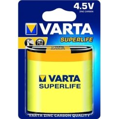 Varta 3R12P Superlife Zinc-Carbon 1шт (02012101301)