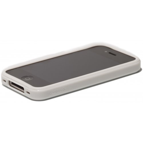 Чехол Verus Crutial Mix Bumper Apple iPhone 4S White/White