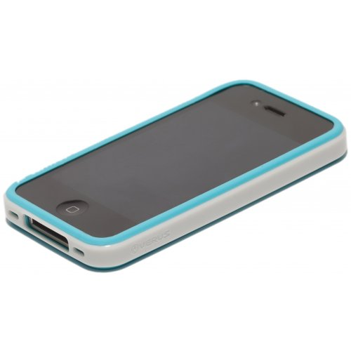 Чехол Verus Crutial Mix Twin Apple iPhone 4S Blue/White