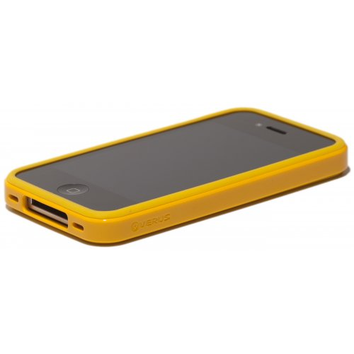 Чехол Verus Crutial Mix Twin Apple iPhone 4S Yellow/Yellow