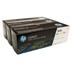 HP 305A (CF370AM) CMY