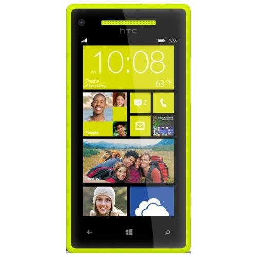 Смартфон HTC Windows Phone 8X C620e Limelight Yellow