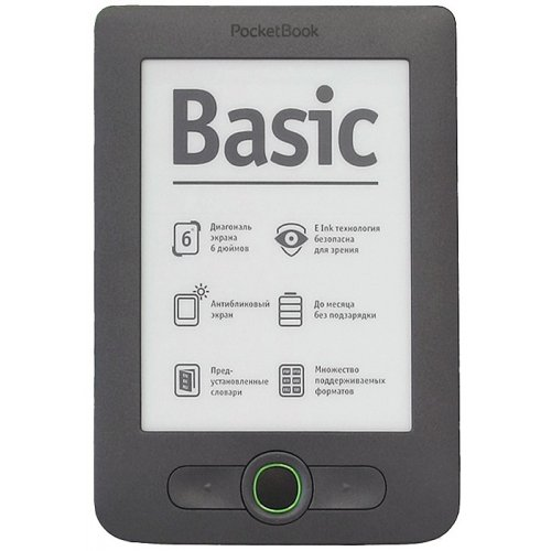 Электронная книга PocketBook 613 Basic New Dark Grey