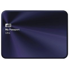 Western Digital My Passport Ultra Metal 1TB WDBTYH0010BBA-EESN Blue