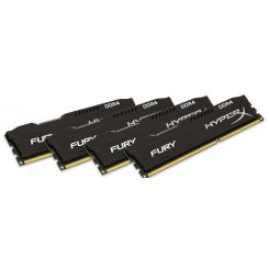 Kingston DDR4 32Gb (4x8GB) 2666Mhz HyperX FURY Black (HX426C15FBK4/32)