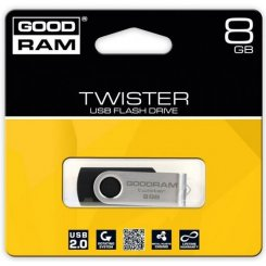GoodRAM UTS-2 Twister 8GB Black (UTS2-0080K0R11)